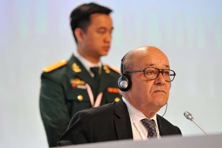 Pháp kêu gọi châu Âu tham gia tuần tra biển Đông - ảnh 1