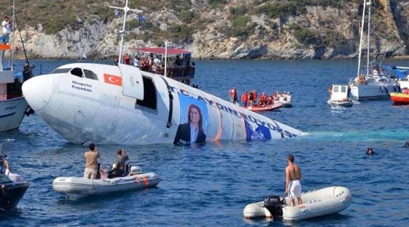 Thổ Nhĩ Kỳ đánh chìm máy bay cỡ lớn để thu hút du lịch - ảnh 1