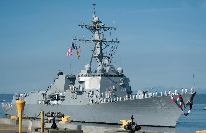 Mỹ điều thêm tàu chiến tới Đông Á đối phó Trung Quốc - ảnh 1