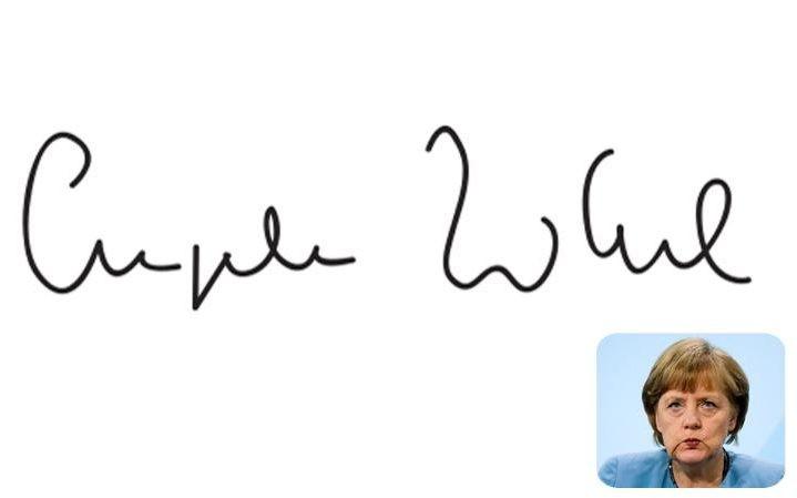 'Soi' chữ ký của các nhà lãnh đạo tiết lộ những 'bí mật' gì? - ảnh 6