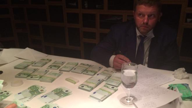 thống đốc Nga nhận hối lộ