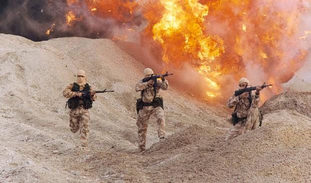 binh sĩ đặc nhiệm Anh SAS