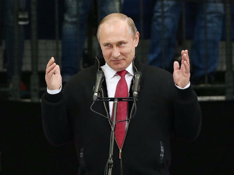 tổng thống Putin bất ngờ hủy họp