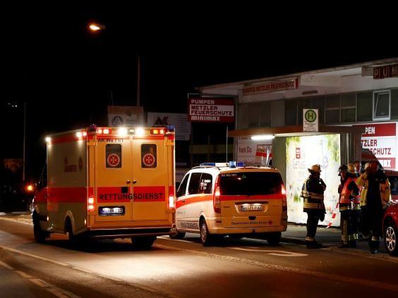 tấn công bằng rìu ở Đức