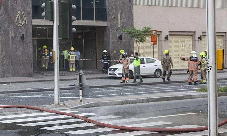 Tòa chung cư 75 tầng ở Dubai bốc cháy ngùn ngụt - ảnh 5