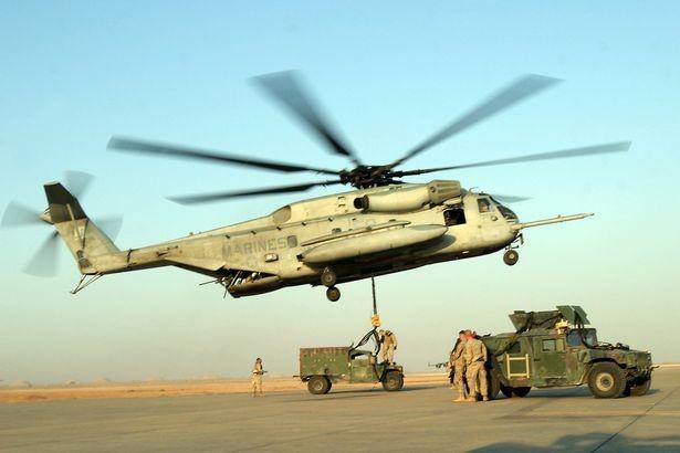 binh sĩ Mỹ ở Iraq