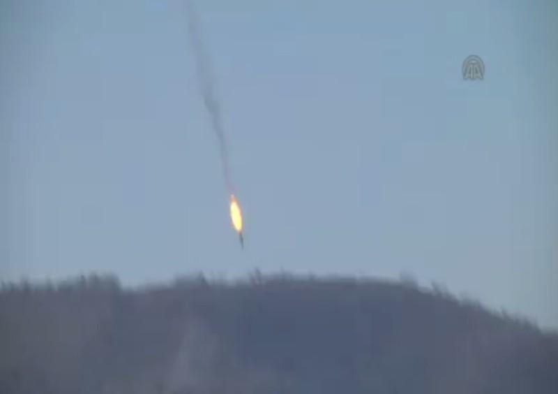 Thổ bắn Su-24 Nga