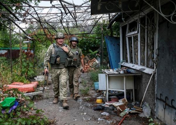 quân nhân Ukraine