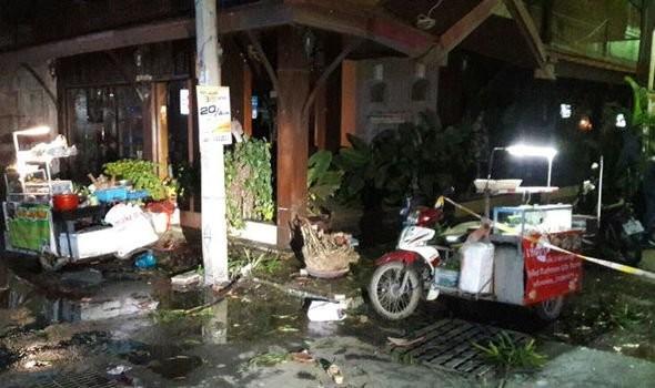 nổ bom Thái Lan ở khu nghỉ mát