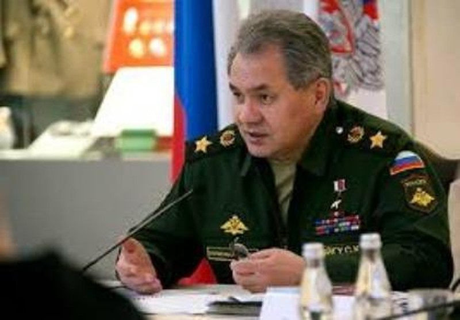 Bộ trưởng Quốc phòng Nga Sergey Shoigu