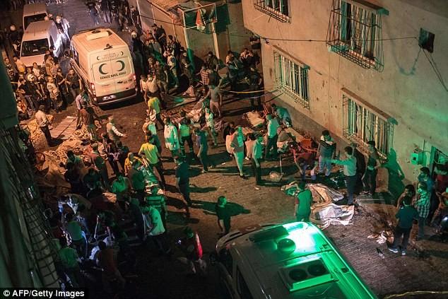đánh bom tại đám cưới ở Thổ Nhĩ Kỳ
