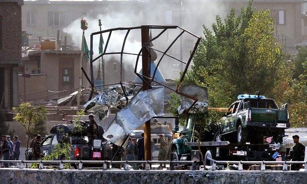 đánh bom tại bộ quốc phòng afghanistan
