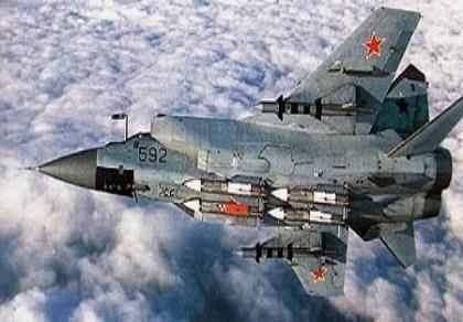 Máy bay MiG-31 của Nga