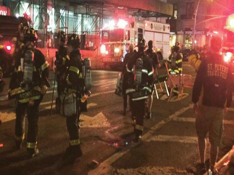 nổ lớn ở Manhattan