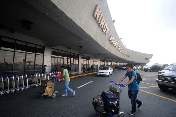 Sân bay quốc tế Ninoy Aquino ở Manila, Philippines.