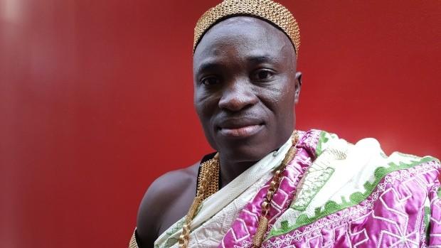 vua của bộ tộc Akan ở Ghana