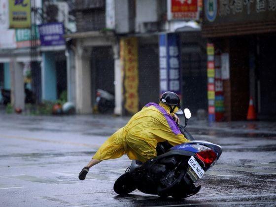 bão Megi tấn công Đài Loan