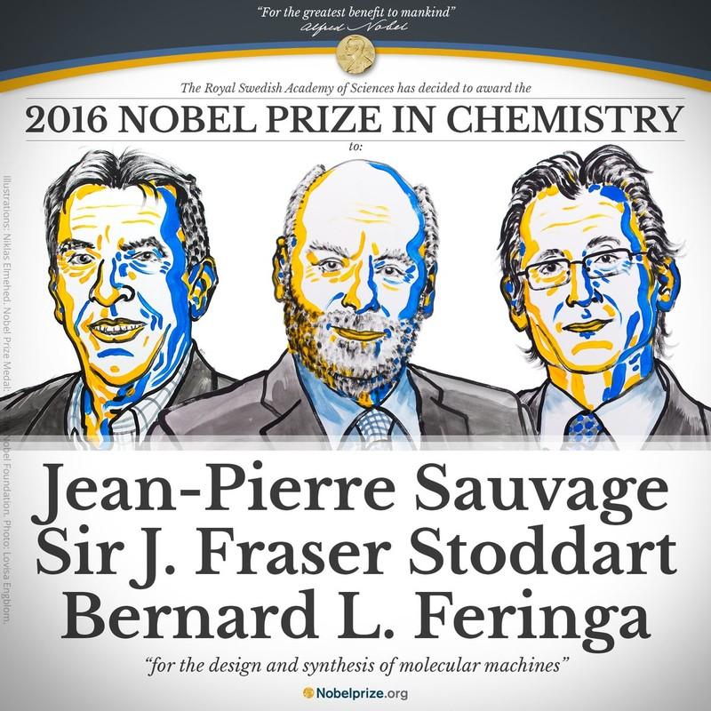 nobel Hóa học 2016