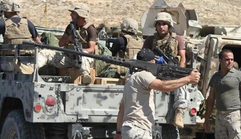 lực lượng an ninh Li-băng