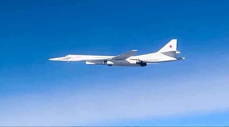 máy bay Tu-160 Nga