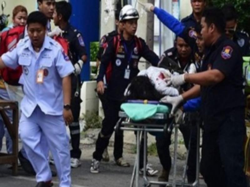 nổ bom Thái Lan