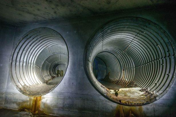 Hình ảnh bất ngờ về hầm trú bom hạt nhân 49 tuổi - ảnh 1