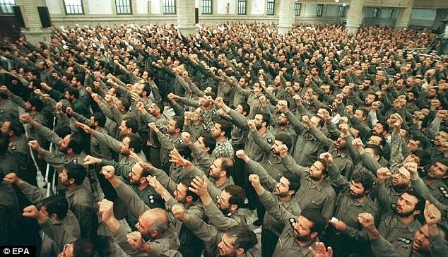 binh sĩ Iran