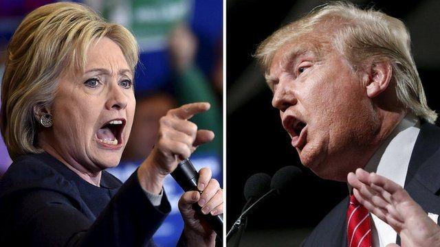 Trump bất ngờ dẫn trước khiến bà Clinton lo sốt vó - ảnh 1
