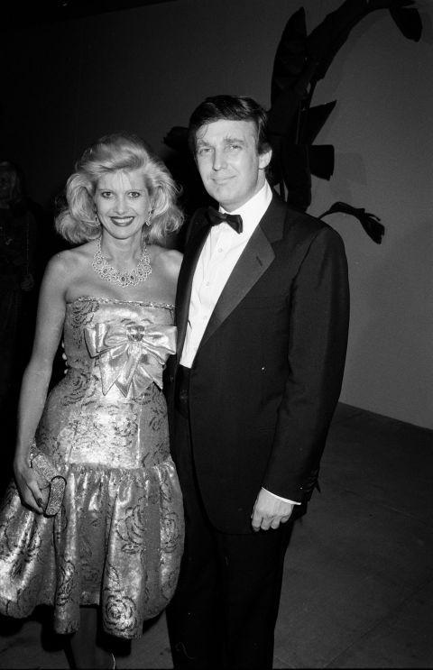 Những 'bóng hồng' đi qua cuộc đời ông Trump