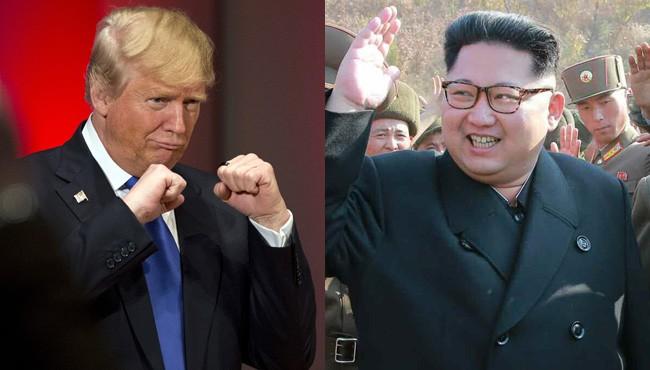 donald trump và kim jong un