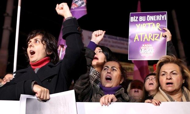 dự luật xóa tội kẻ ấu dâm của Thổ Nhĩ Kỳ