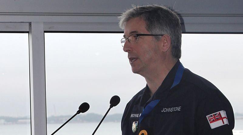 Phó đô đốc Clive Johnstone NATO