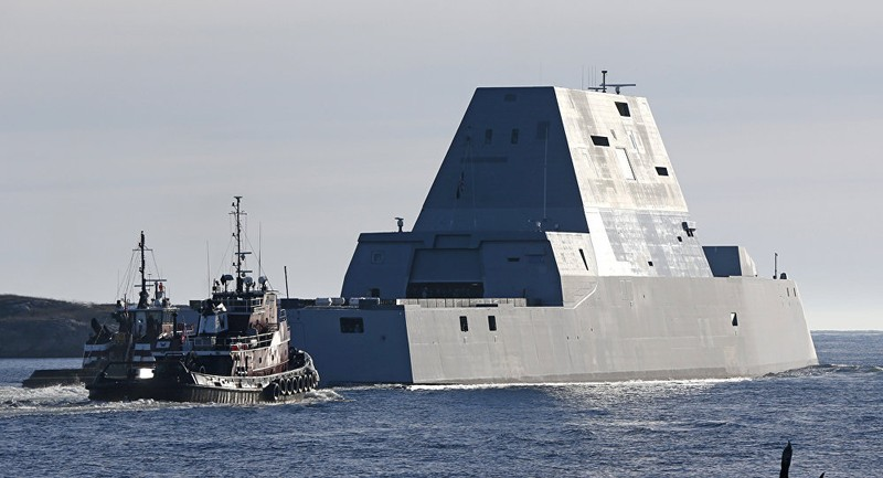 tàu khu trục zumwalt