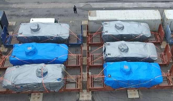 Hong Kong tịch thu 9 xe bọc thép