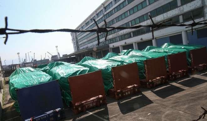 9 xe bọc thép của Singapore bị thu giữ ở Hong Kong