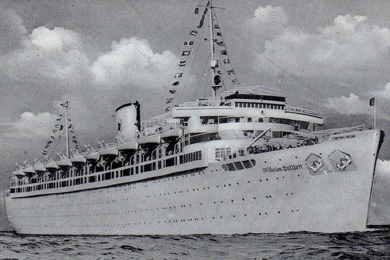con tàu tị nạn MV Wilhelm Gustloff