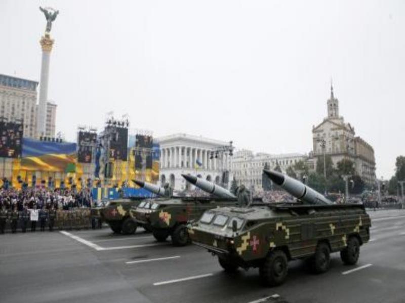 Hệ thống phóng tên lửa di động OTR-21 Tochka-U của Ukraine.