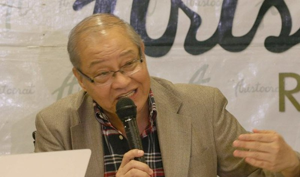 """Đại sứ mới được chỉ định của Philippines tại Trung Quốc Jose Santiago """"Chito"""" Sta. Romana"""