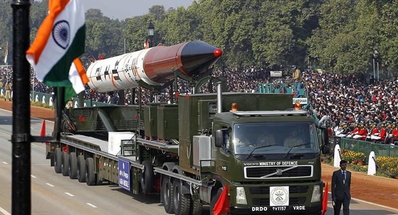Tên lửa Agni IV của Ấn Độ