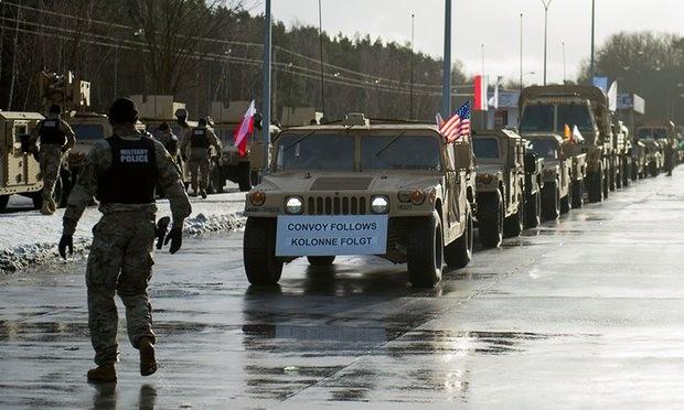 Mỹ đưa quân đến Ba Lan