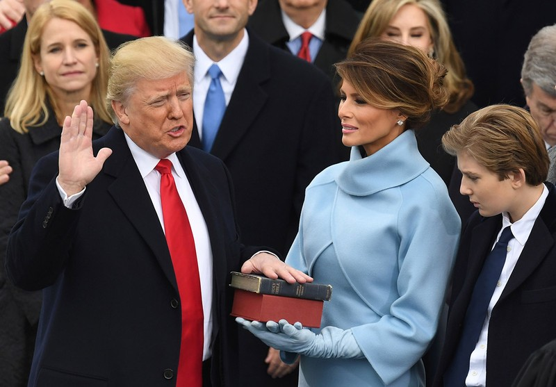 Khoảnh khắc ấn tượng tại lễ nhậm chức của ông Trump - ảnh 13