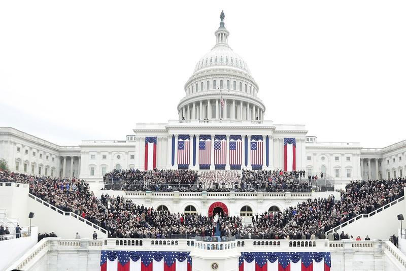 Khoảnh khắc ấn tượng tại lễ nhậm chức của ông Trump - ảnh 9