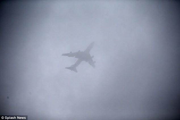 máy bay chở obama