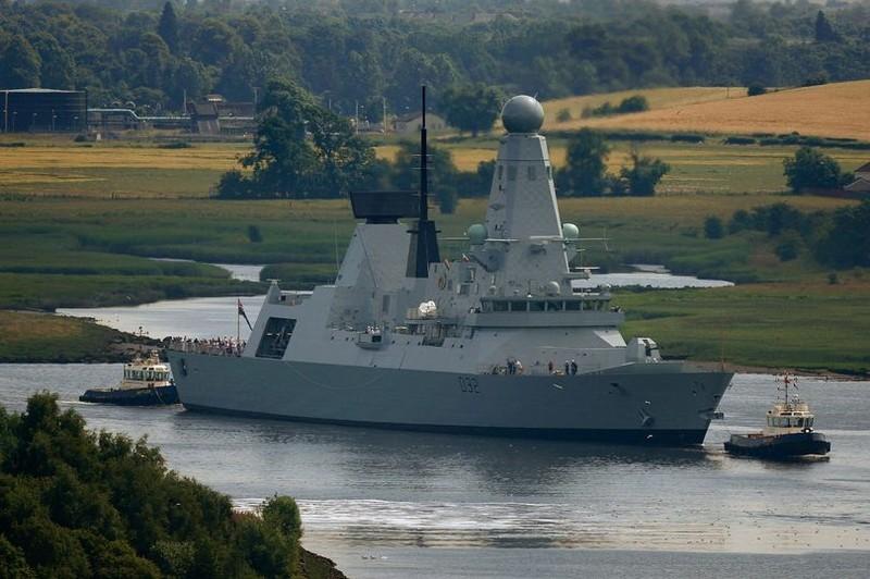 Tàu chiến lớp Type 45 của Anh