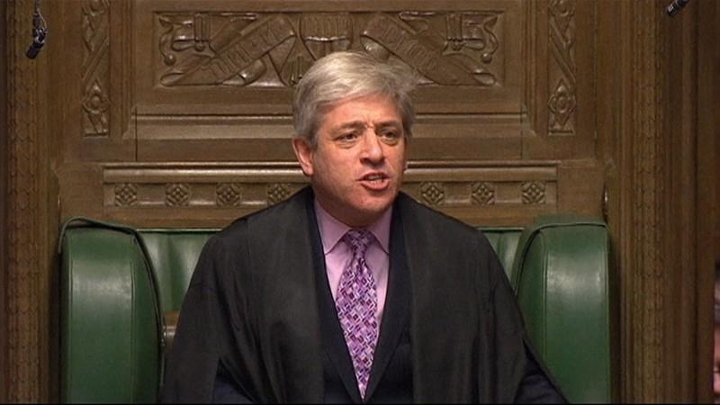 Chủ tịch Hạ viện Anh John Bercow