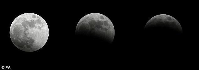 Nguyệt thực, sao chổi, trăng tuyết sắp cùng xuất hiện - ảnh 1