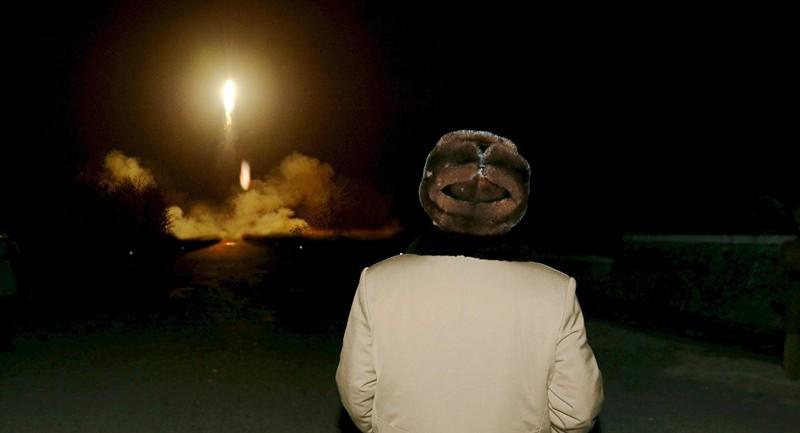 Một vụ phóng tên lửa của Triều Tiên