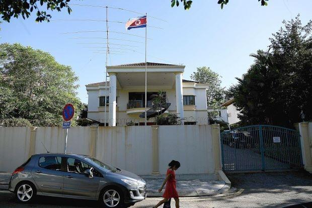 Cảnh sát Malaysia tới đại sứ quán Triều Tiên thẩm vấn  - ảnh 1