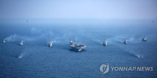 Tàu sân bay Carl Vinson tập trận gần bán đảo Triều Tiên - ảnh 1