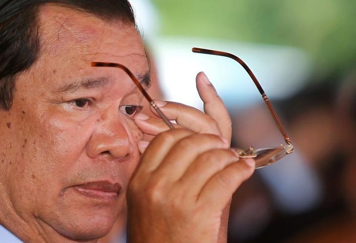 Ông Hun Sen dọa giải thể đảng đối lập Campuchia - ảnh 1